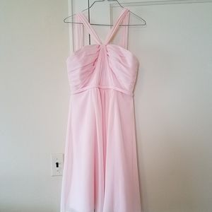 David's Bridal light pink formal dress size 8.